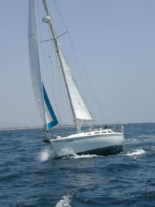 Sailing Yacht Wiley is Sail Channel Islands primary training boat