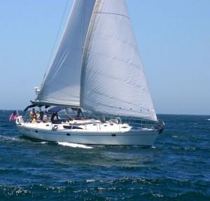 Sancerre is Sail Channel Islands luxury yacht, Capt. Dan commanding