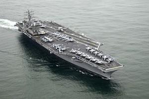 USS Nimitz is a super carrier