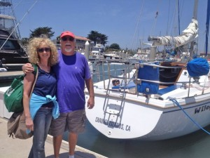 Vinnie and Patti on cruise to Anacapa Island