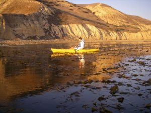 Kayak near Shaw Anchorage