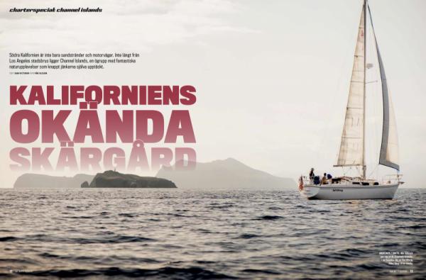 We're famous ... at least among Swedish sailors who read BATNYTT