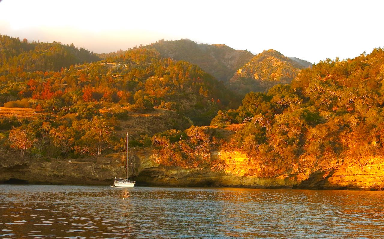 Sail to Pelican Bay on Santa Cruz Island with Capt. Dan Ryder and Sail Channel Islands