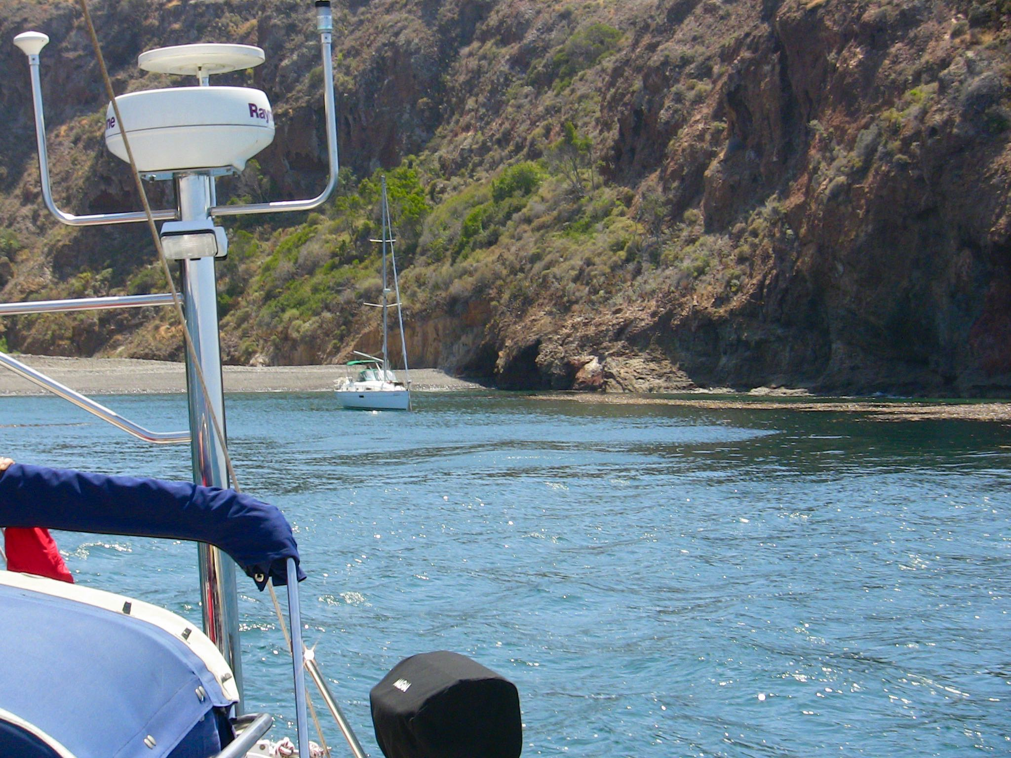 Sail to Twin Harbors on Santa Cruz Island with Capt. Dan Ryder and Sail Channel Islands
