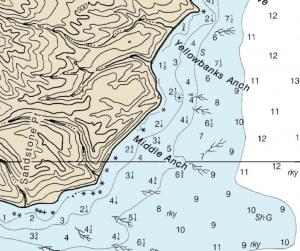 NOAA chart 18729