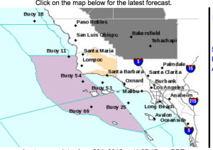 Click for detailed SoCal weather forecasts and current conditions